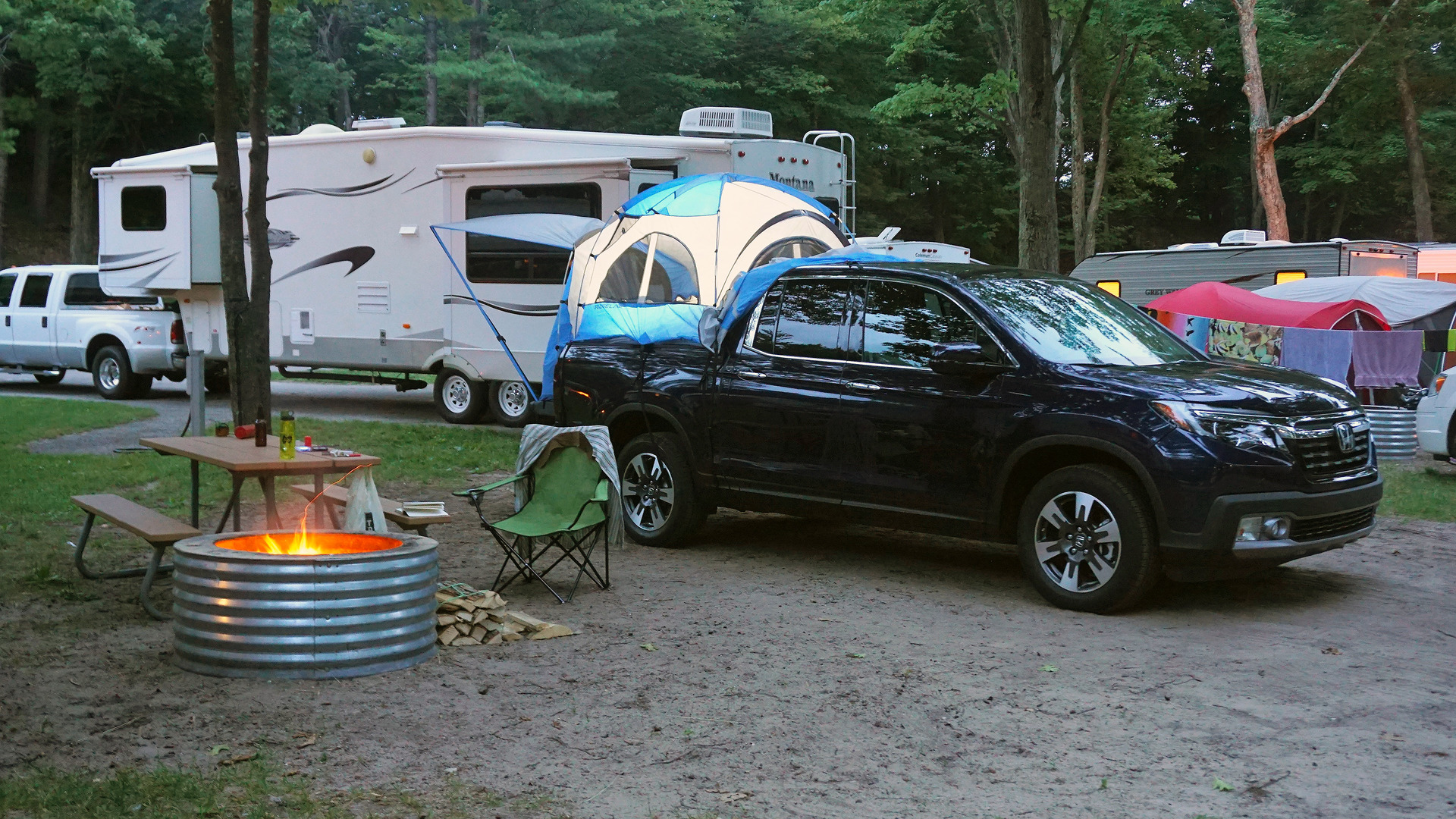 Burgess: Out in the woods with the Honda Ridgeline