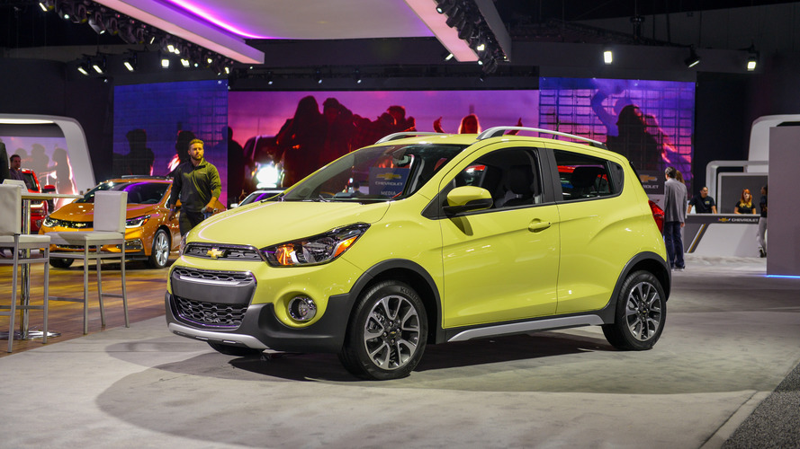 Los Angeles 2016 - Chevrolet Spark Activ, faussement baroudeuse