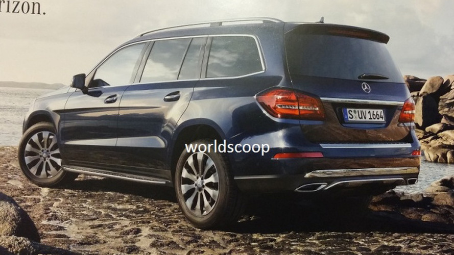 Mercedes-Benz GLS (GL facelift) leaked