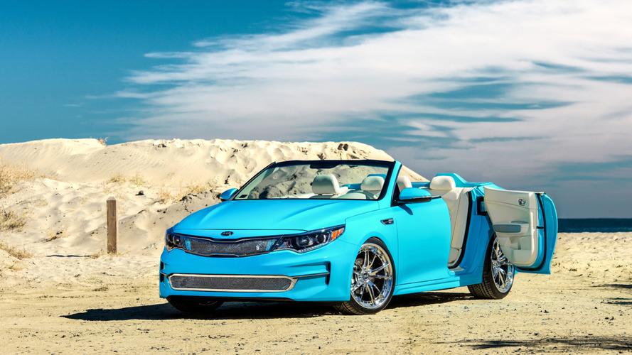 2016 Kia Optima convertible one-off prepared for SEMA