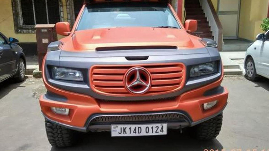 Mercedes-Benz Ener-G-Force concept replicated based on Tata Xenon pickup truck