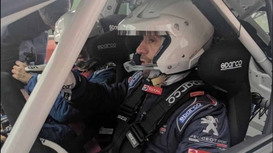 Peugeot, la 308 Racing Cup è in gara con Stefano Accorsi
