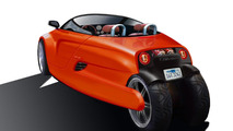 T3 Motion GT3 three-wheel electric vehicle