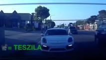 Porsche Cayman GT4 vs Tesla