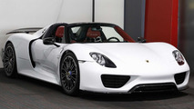 Porsche 918 Spyder with Weissach Package