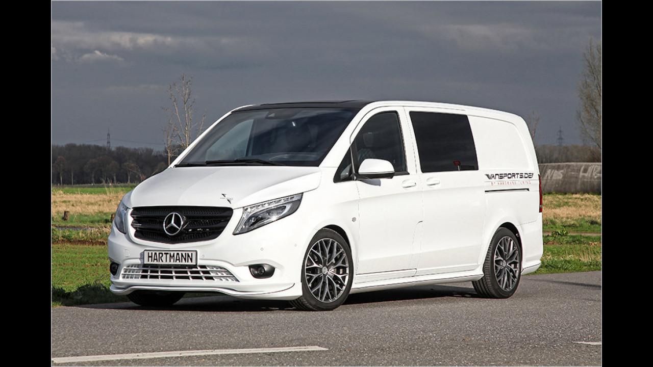 Luxus-Lieferwagen