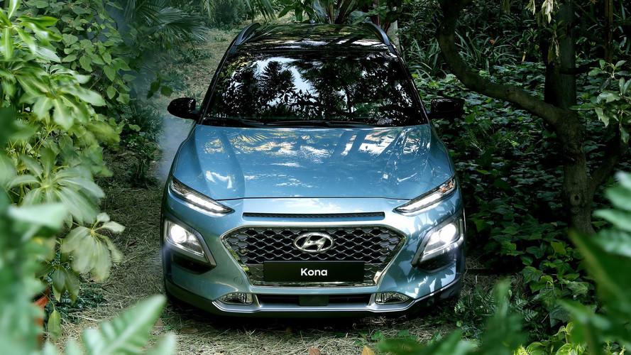 Le Hyundai Kona électrique avec deux niveaux d'autonomie