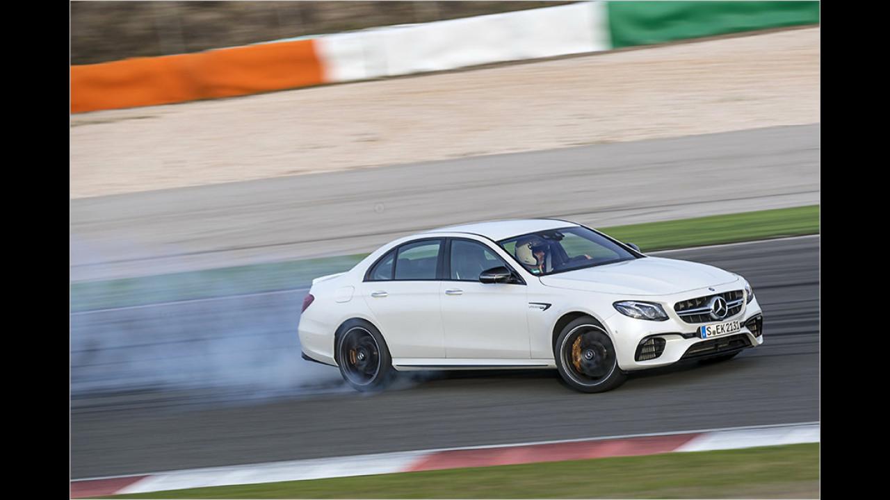 2017: Mercedes-AMG E 63 4Matic+
