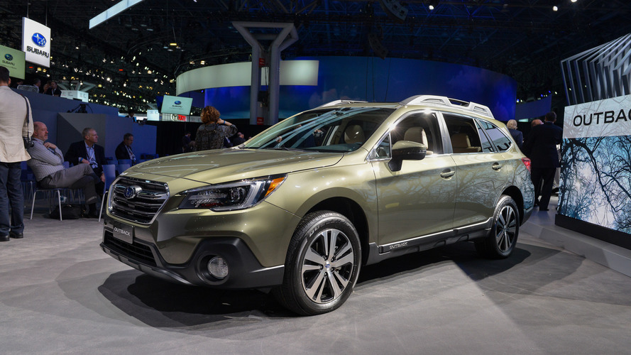 2018 Subaru Outback Brings Well-Thought-Out Facelift To New York