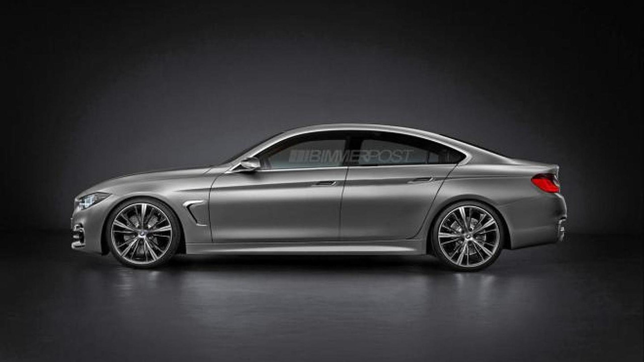 BMW M Coupe And Series Gran Coupe Rendered Motorcom Photos - 2012 bmw 4 series