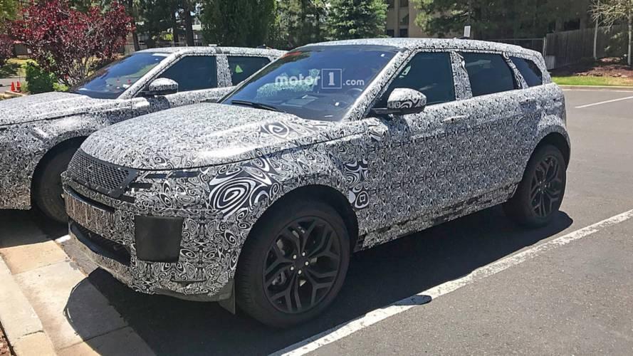 New Range Rover Evoque flaunts its tech-focused cabin in spy shots