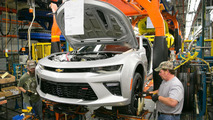 2016 Chevrolet Camaro production annoucement