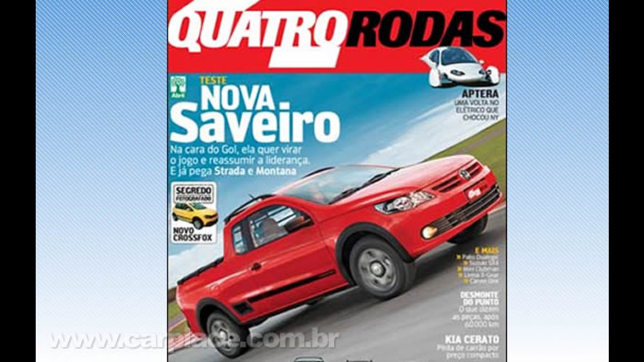 Esta é a Nova Saveiro 2010 - Revista revela o visual da nova pick-up da Volkswagen