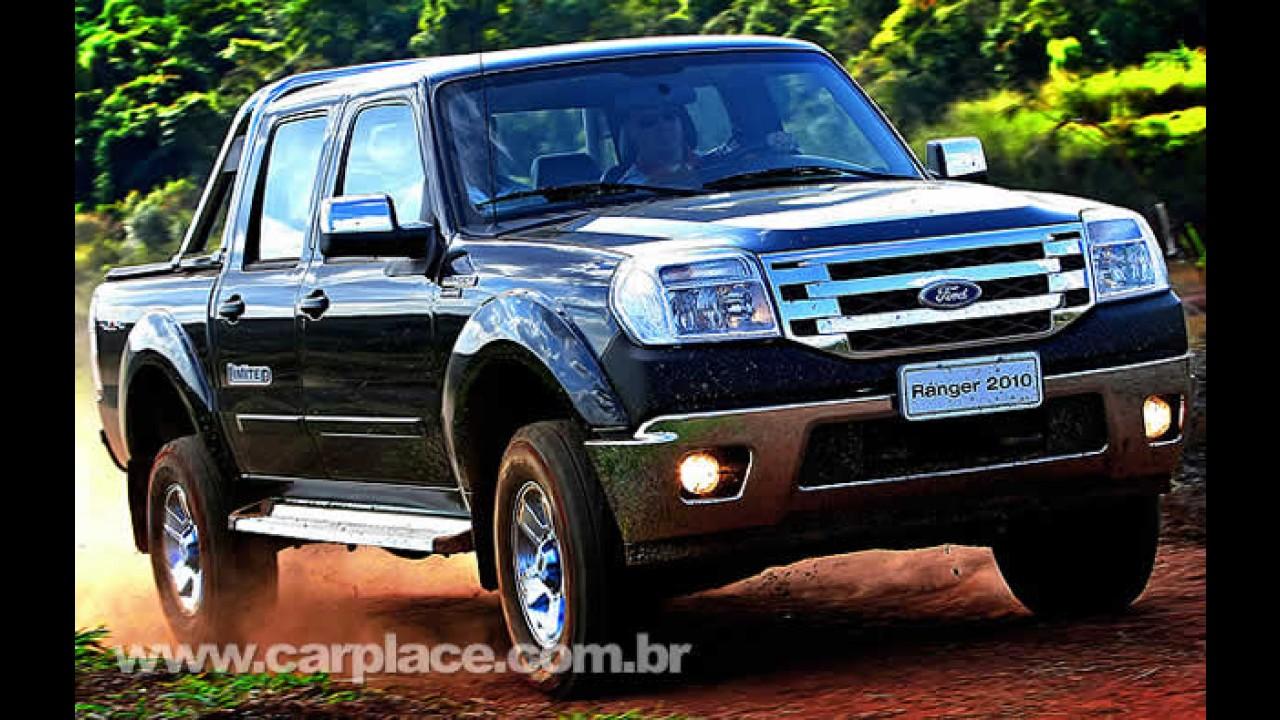 Ford Ranger 2010 é lançada com preços entre R$ 45.990 e R$ 96.730 - Confira a tabela de preços