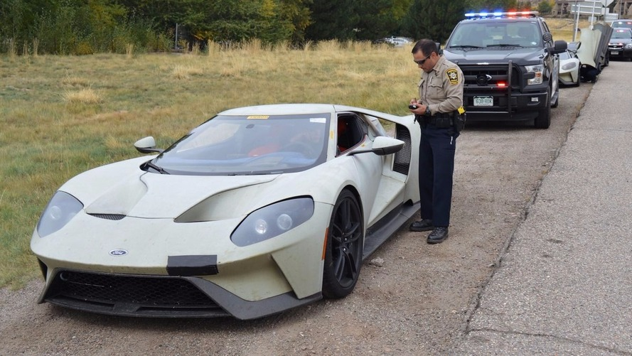 Trio of Ford GTs busted for speeding while testing in Colorado