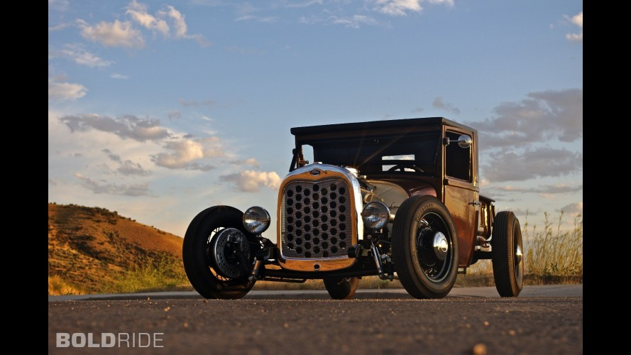 Wrecked Metals Ford Model A Truck