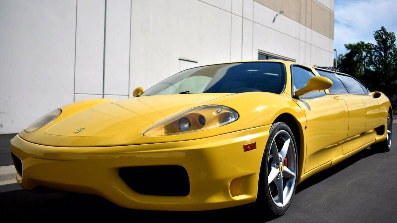 Ferrari 360 Modena Limusina