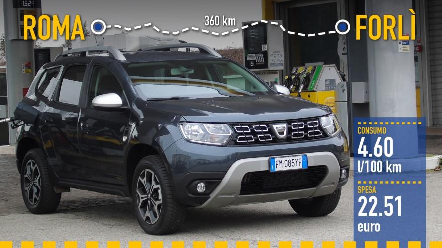 Dacia Duster 1.5 dCi, la prova dei consumi reali