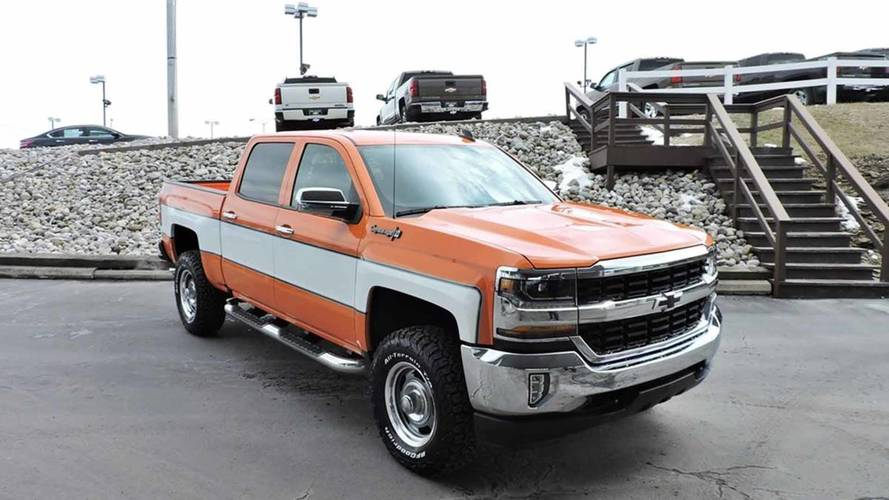 Chevrolet Silverado Cheyenne Custom
