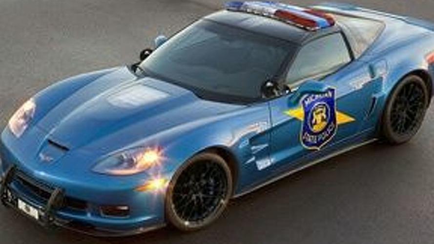 Corvette ZR1 Police Car