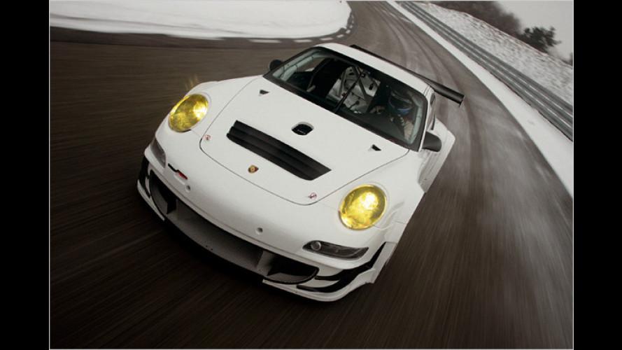 Feinschliff für den Boliden: Porsche schärft 911 GT3 RSR