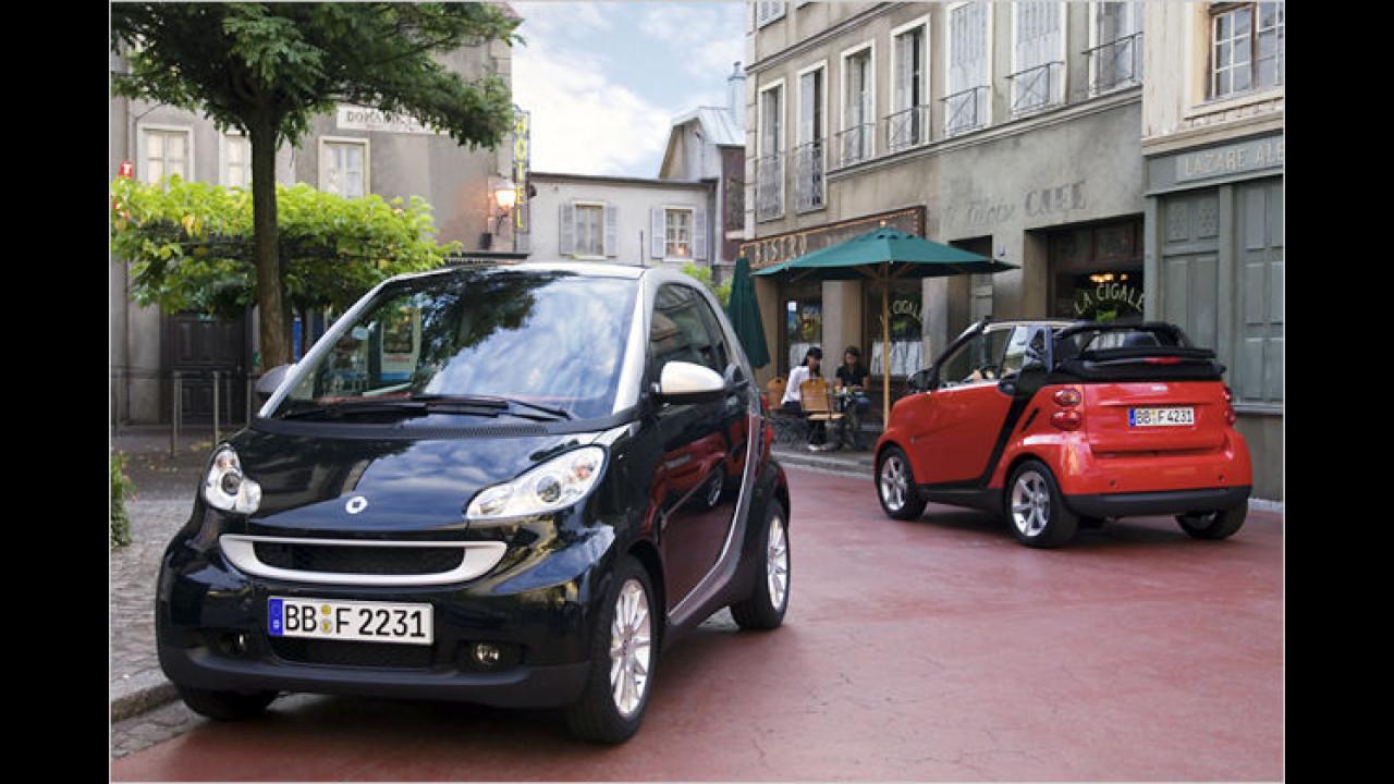 smart fortwo coupé/cabrio 0.8 cdi pure
