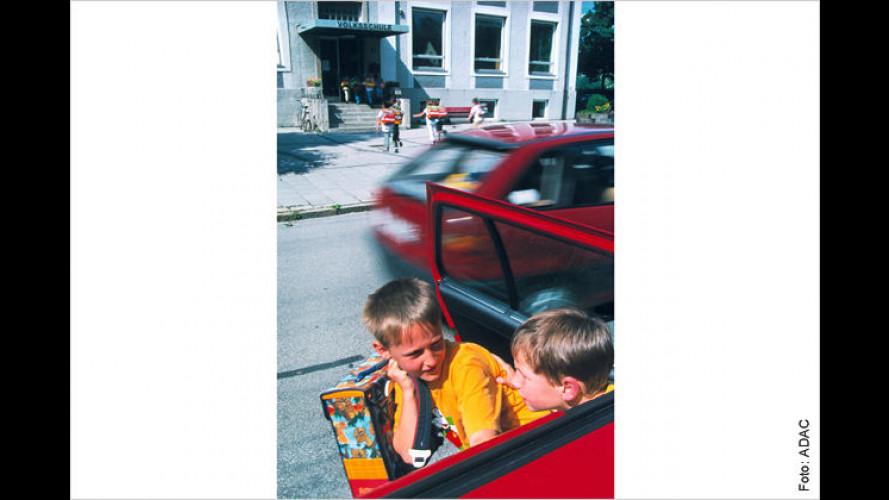 Kindersicherheit: Jedes dritte Schulkind im Auto in Gefahr