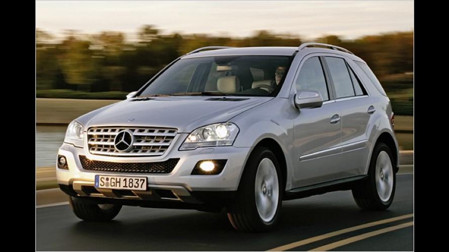 Mercedes M-Klasse: Facelift für das Schwaben-SUV