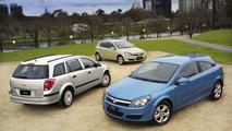 Opel (Holden) Astra Range