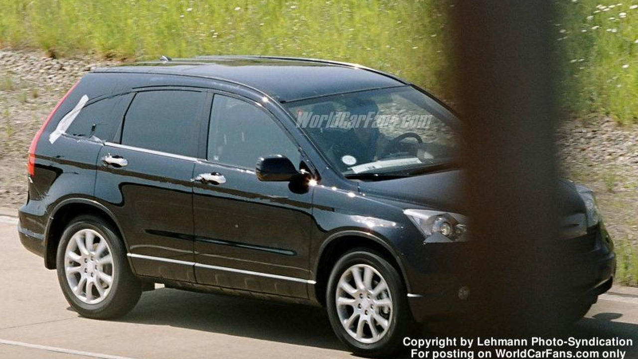 New Honda CR-V (Euro spec) Spy Photo
