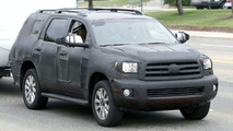 Toyota Sequoia Limited Spy Photos