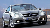 Mercedes SL Second Facelift Spy Pics