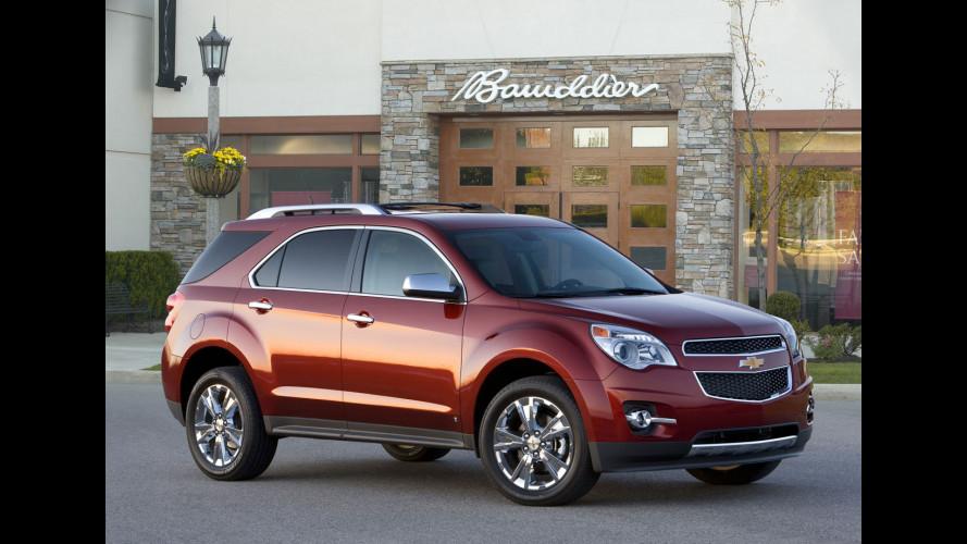 Chevrolet Equinox: più parca nei consumi nel 2010