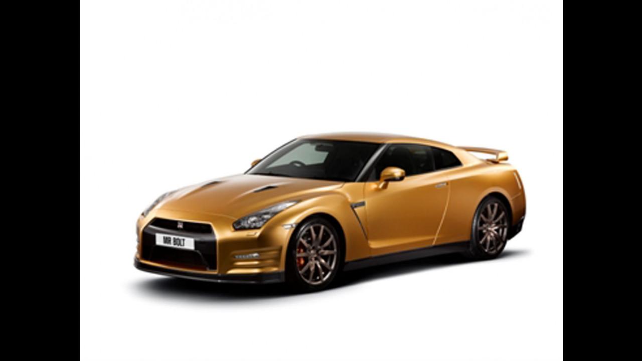 Nissan GT-R color oro per Usain Bolt
