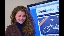 Miss Italia 2012 nella redazione di OmniAuto.it