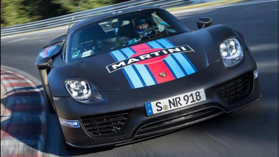 Porsche 918 Spyder, record al Nurburgring