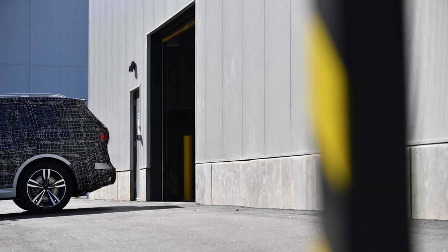 BMW X7 preserie