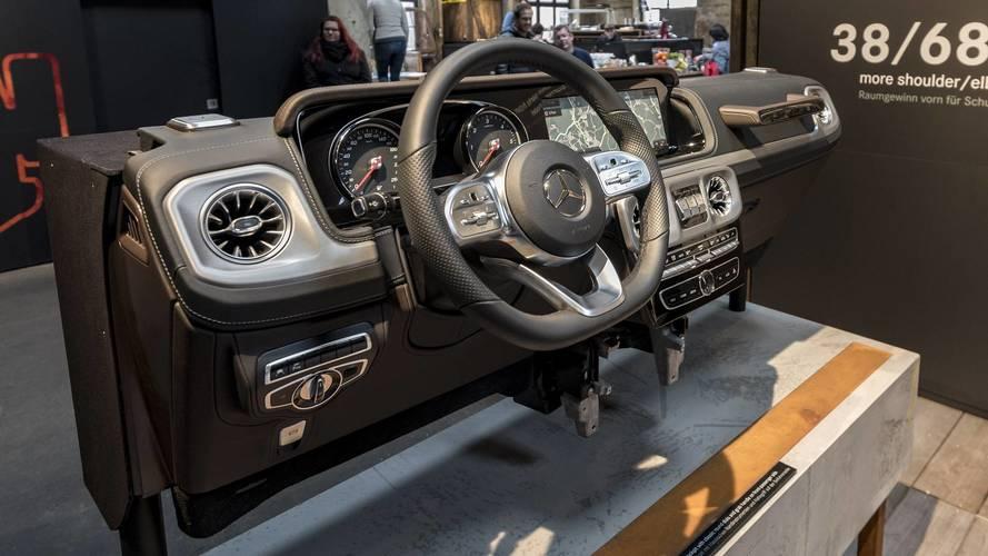 Mercedes Benz G Class Interior Parts