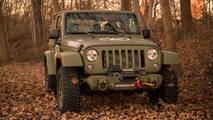 Bu özel Jeep Wrangler askere gitmeye hazır