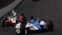F1's Sato almost wins Indy 500 [video]