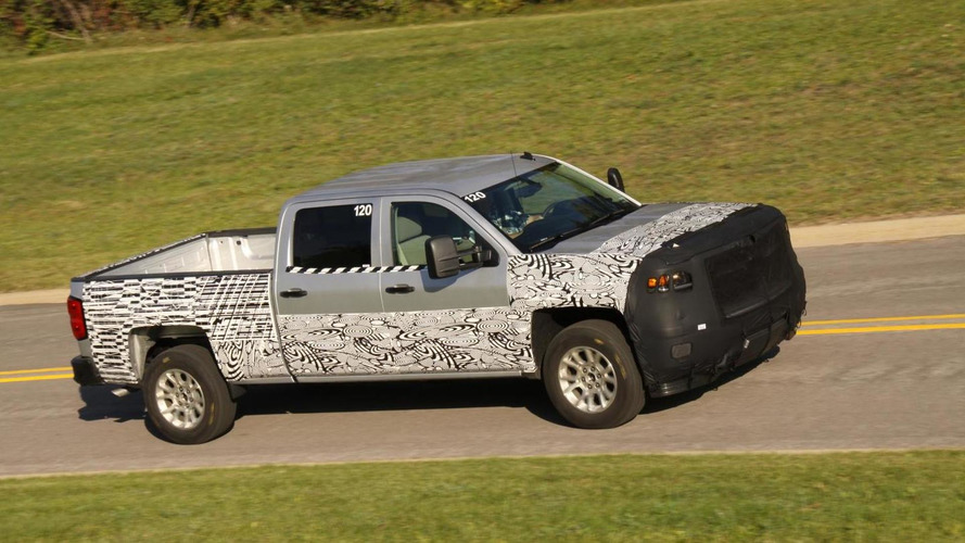 2014 Chevrolet Silverado wearing less camouflage