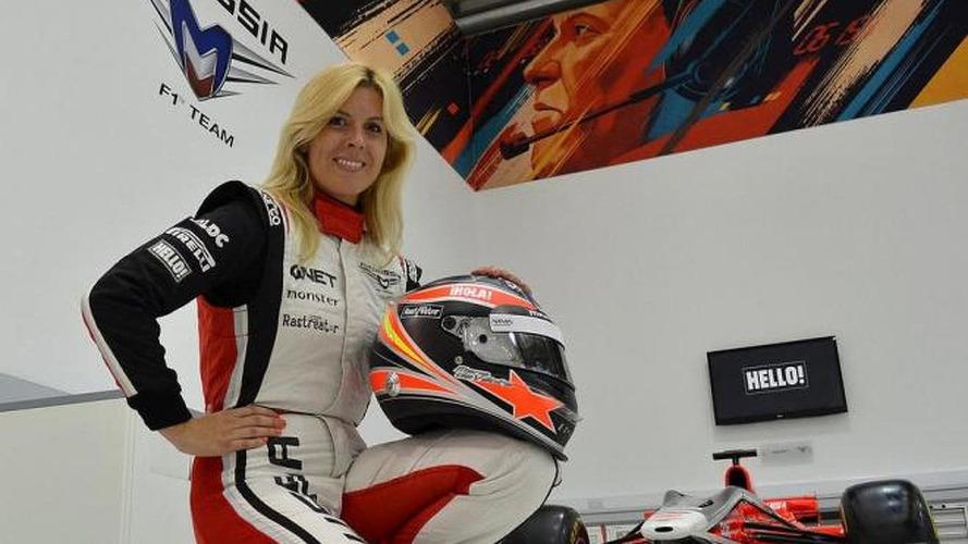 Marussia says de Villota 'conscious'