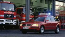 Volkswagen Passat fire engine