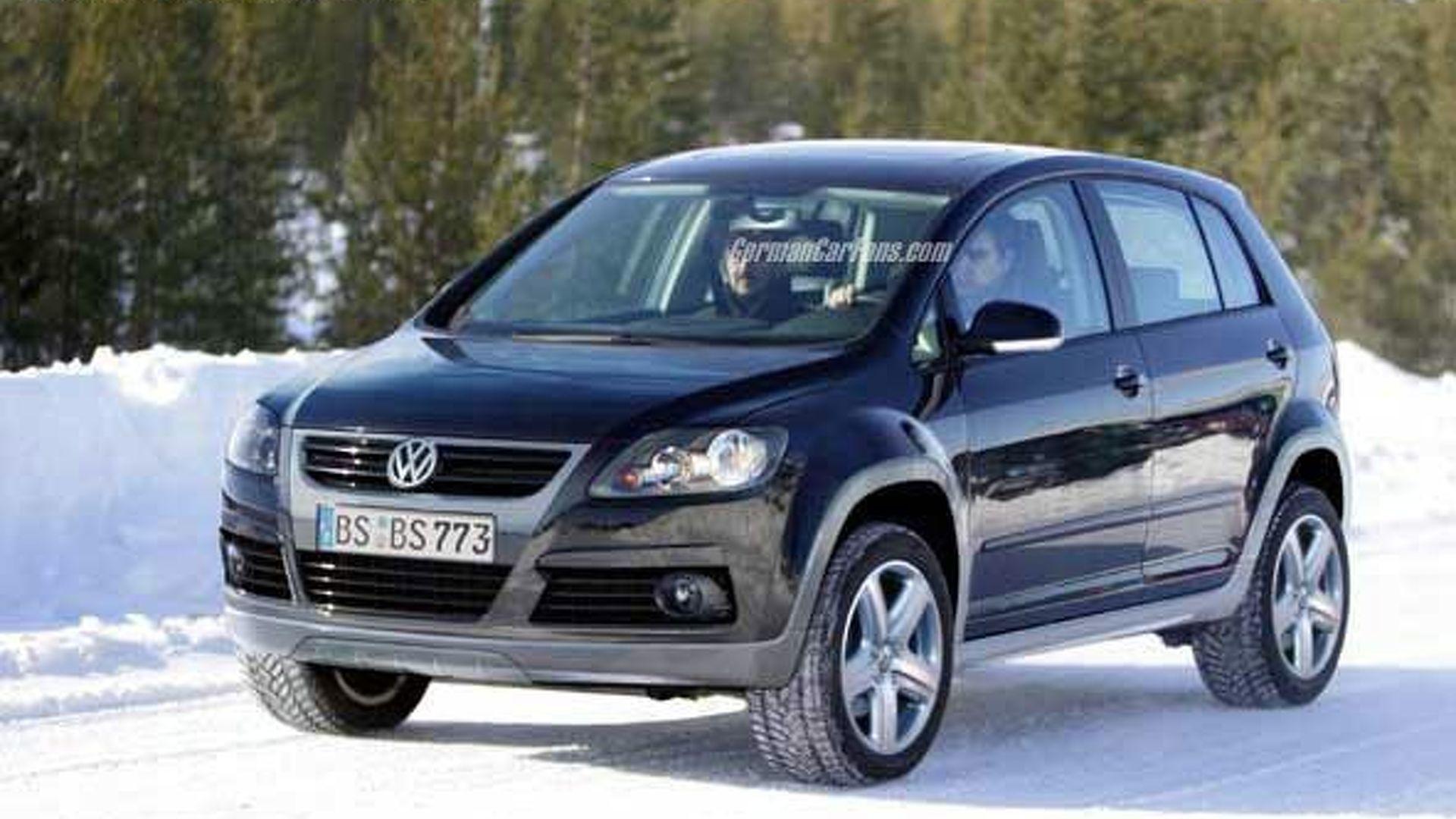 Vw Touareg Spy >> VW Cross Golf SUV Spy Photos