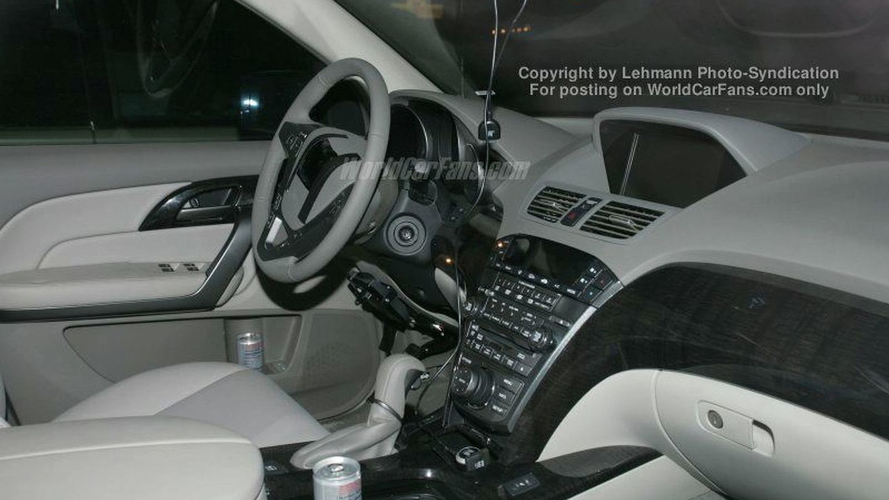 Spy Photos: Acura MDX   Interior