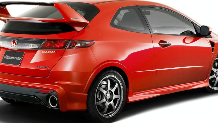 Mugen Enhanced Honda Civic Type R First Pictures