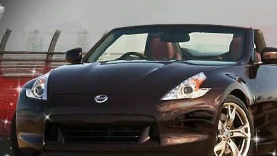 Nissan Release First Image of 370Z Roadster Ahead of New York Debut