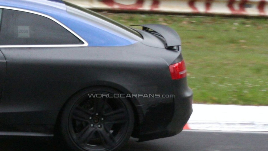 Audi RS 5 Spied with Retractable Rear Spoiler - Ur-quattro revival rumours surface