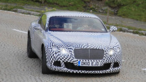 2011 Bentley Continental facelift prototype spied testing
