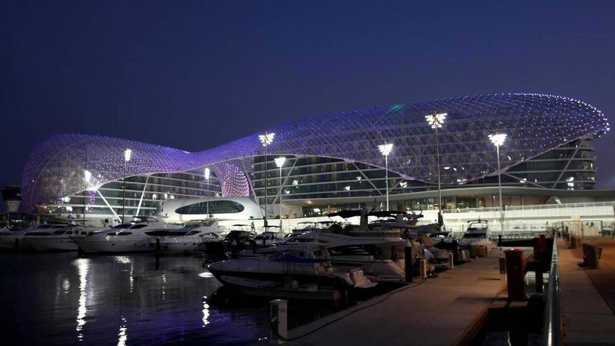 Rain follows F1 to Abu Dhabi desert